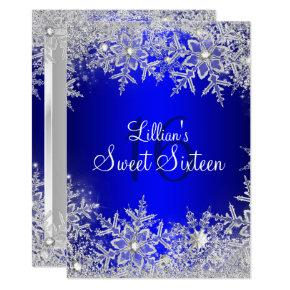 winter wonderland sweet 16 invitations sweet sixteen invitations