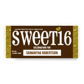 Candy Bar1 Sweet Sixteen Party Invitation