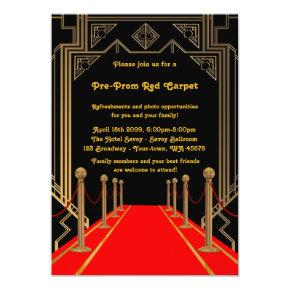Red Carpet Hollywood Silver Glitter Sweet 16 Card Sweet Sixteen