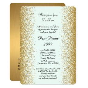 Pre Prom, Pre-Prom, Quinceanera, Sweet-sixteen, 2 Invitation